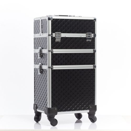 三層拉桿化妝箱